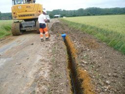 """Travaux d'adduction en eau potable"""