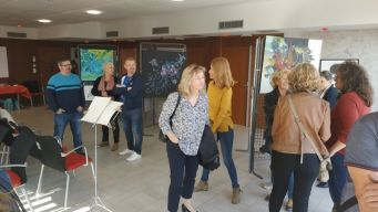 Exposition du bocal d'art